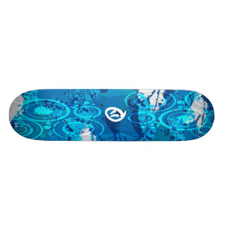 Blueberry Yum Yum Skateboard