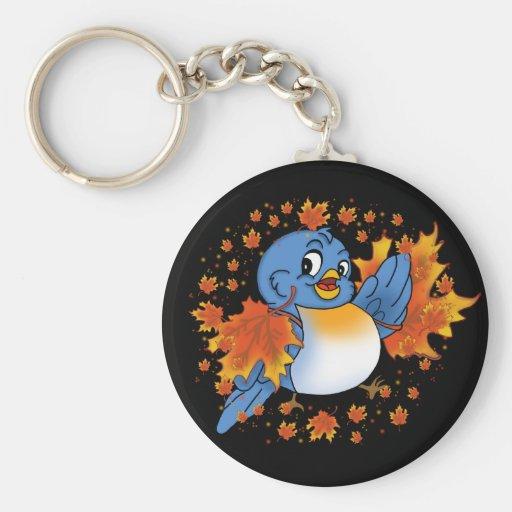 bluebird5 keychain