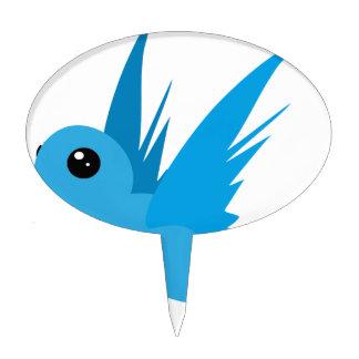 Bluebird #2 cake topper