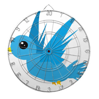 Bluebird #2 dartboard with darts