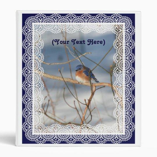 Bluebird Animal Photography Custom Avery Binder