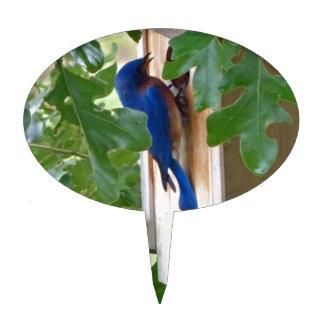 Bluebird at Home Cake Topper