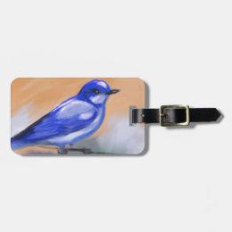 Bluebird Bag Tag