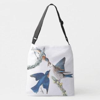 Bluebird Birds Wildlife Animals Audubon Tote Bag
