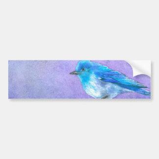 Bluebird Bliss Car Bumper Sticker