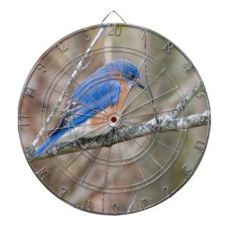 Bluebird Blue Bird in Tree Dartboard With Darts