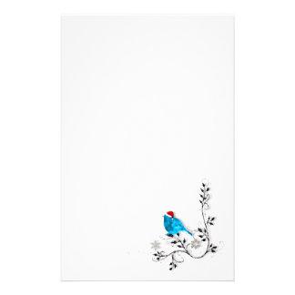 Bluebird Christmas Stationery Paper
