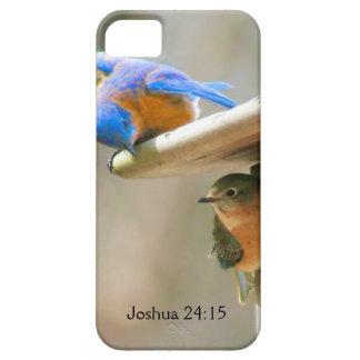 Bluebird Couple with Bible Verse iPhone SE/5/5s Case