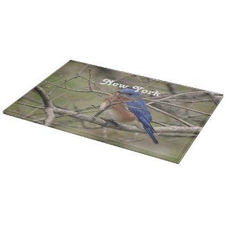 Bluebird Cutting Board