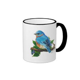 Bluebird de la baya taza