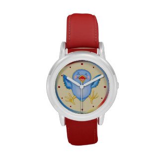 Bluebird de la felicidad reloj