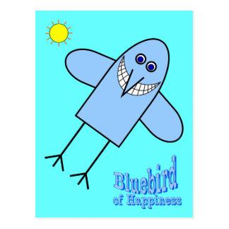Bluebird de la felicidad postal