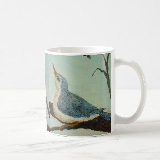 Bluebird de la felicidad taza de café