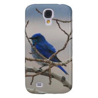 Bluebird de la montaña funda para galaxy s4