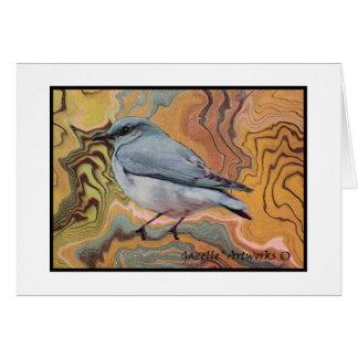 Bluebird de Sumi Tarjeta Pequeña