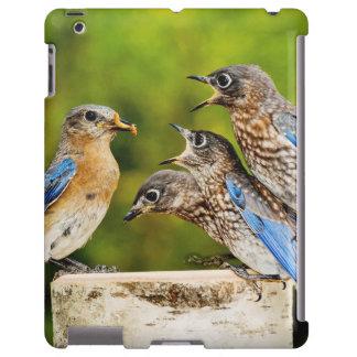 Bluebird del este funda para iPad