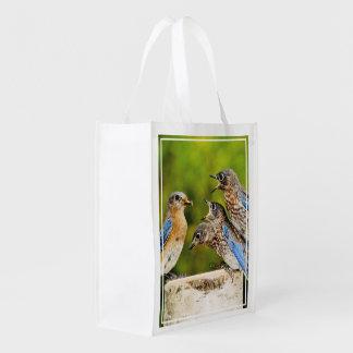 Bluebird del este bolsas de la compra