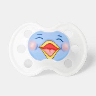 Bluebird feliz chupetes de bebé