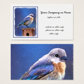 Bluebird (Female) Business Card