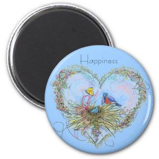 Bluebird Happiness Magnet