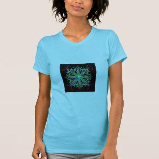 Bluebird in a spiral kaleidoscope girt collection shirts