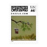 Bluebird in Bay Tree .44 stamp