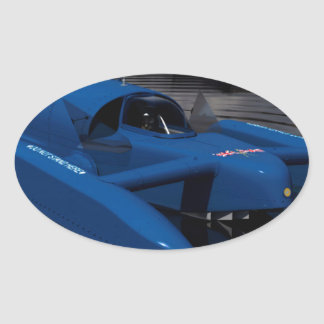 Bluebird K7 Oval Sticker