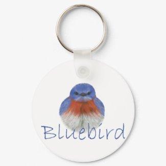 bluebird keychain keychain