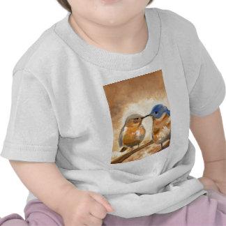 Bluebird Kiss T-shirt
