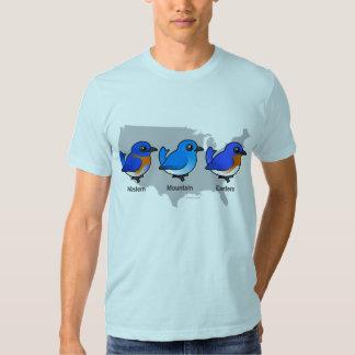 Bluebird Map T Shirt