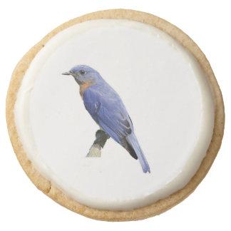 Bluebird Round Premium Shortbread Cookie