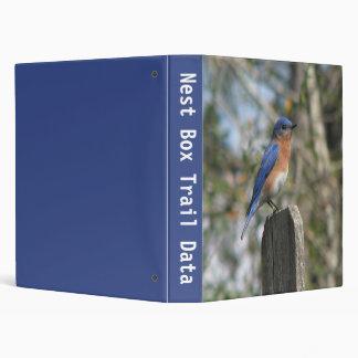 Bluebird Nestbox Trail 2 3 Ring Binder
