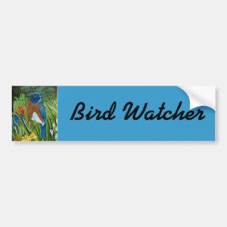 Bluebird occidental pegatina para auto