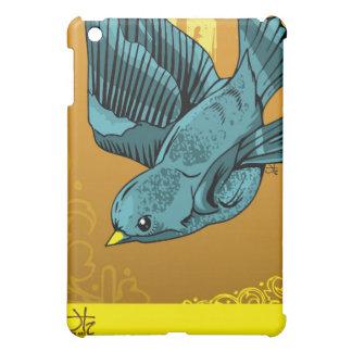 BlueBird of Electronic Happiness iPad Mini Covers