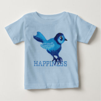 Bluebird of happiness baby T-Shirt