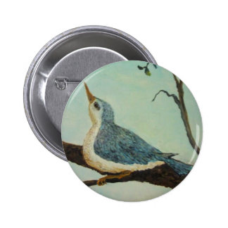 Bluebird of Happiness Pin