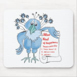Bluebird of Happiness by BestPeople Mousepads