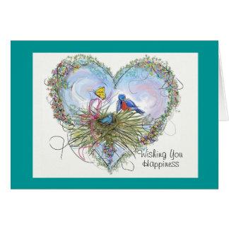 Bluebird of Happiness Card - Customized