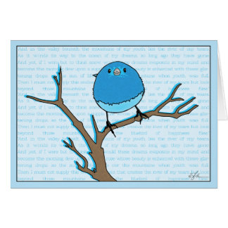 Bluebird of Happiness Cards