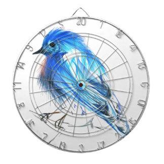 Bluebird of happiness dartboard