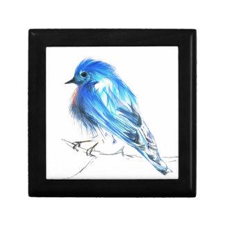 Bluebird of happiness keepsake box