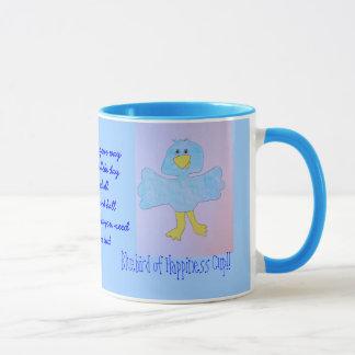 Bluebird of happiness mug