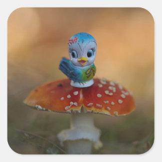 Bluebird of Happiness Stickers