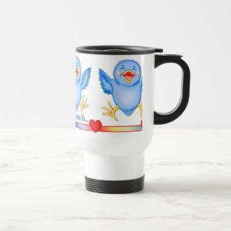 Bluebird of Happiness Travel Mug