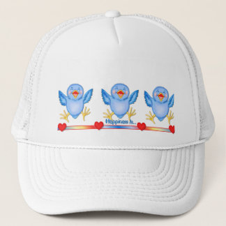 Bluebird of Happiness Trucker Hat