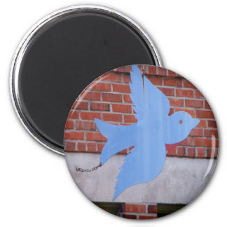 Bluebird of KCMO 2 Inch Round Magnet
