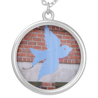 Bluebird of KCMO Necklace
