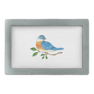 BLUEBIRD ON BRANCH BELT BUCKLES