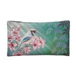 Bluebird on Lily Tree Bag Makeup Bag