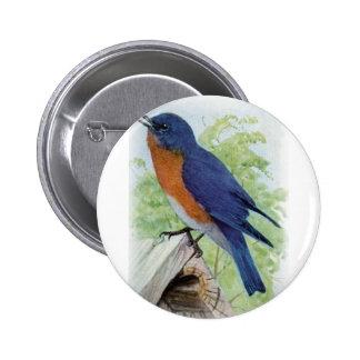 Bluebird Pin Redondo De 2 Pulgadas
